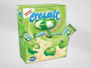 Creamix packaging